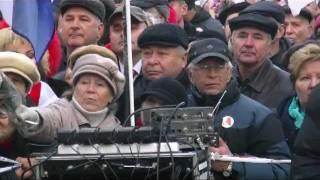 День рождения Тимошенко под стенами СИЗО. 27.11.2011.(Сюжет о событии смотрите здесь - http://javot.net/videomy/video243.htm 27 ноября 2011 года в Киеве, у стен СИЗО, состоялась акция..., 2011-11-28T20:28:55.000Z)