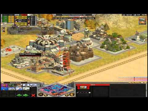 Awesome Rise of Nations Gold 5x speed gameplay