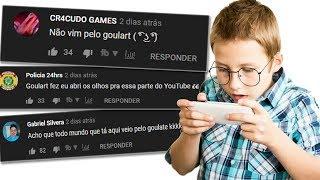 COMENTÁRIOS DOS INSCRITOS DO GOULARTE EM VÍDEOS ADULTOS...