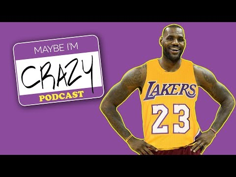 LaVar on LeBron, Lakers and Trump   EPISODE 45   MAYBE I'M CRAZY
