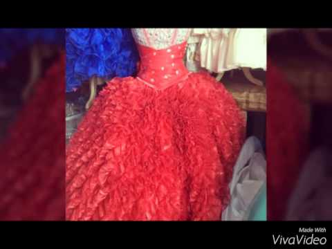 Vestidos damas de honor xv