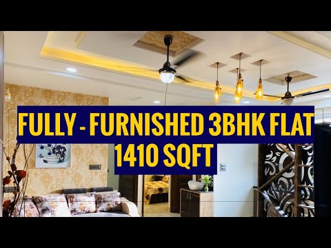 Luxury 3 Bhk Fully Furnished Flat In Jaipur Modern 3 Bhk Flat For Sale In Jaipur Home Tour 2020 Youtube