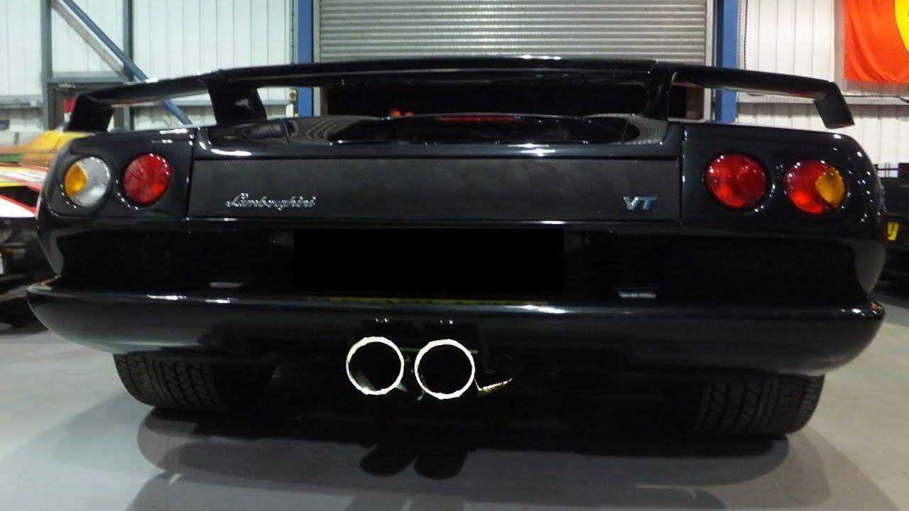 Lamborghini Diablo Vt 6 0 Exhaust Startup