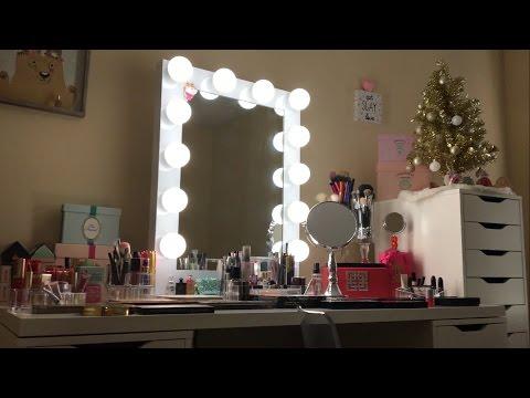 New Vanity - Makeup Collection - Declutter
