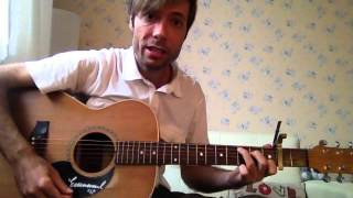 """""""Jesus I come"""" by Elevation - Acoustic guitar tutorial"""