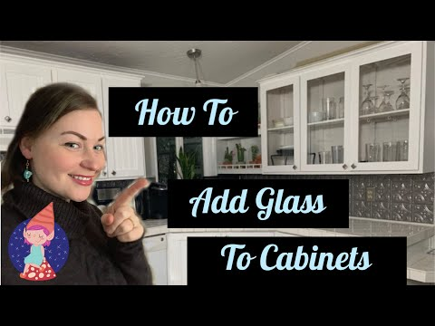 how-to-insert-glass-into-cabinet-doors