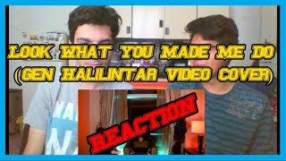 Look What You Made Me Do -Taylor Swift (Gen Halilintar Video Cover) REACTION