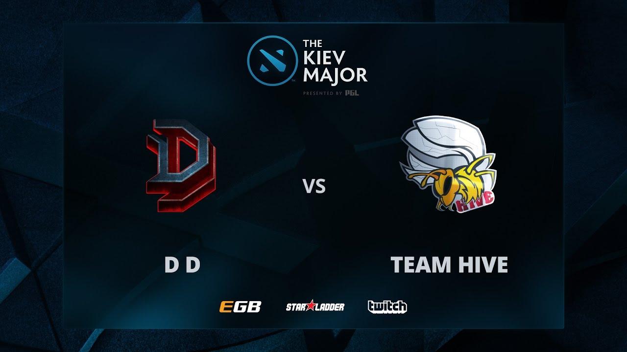 Hive vs D D, The Kiev Major CIS Main Qualifiers