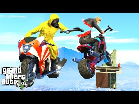 THE GTA 5 JOUST CHALLENGE!! (GTA 5 Funny Moments)