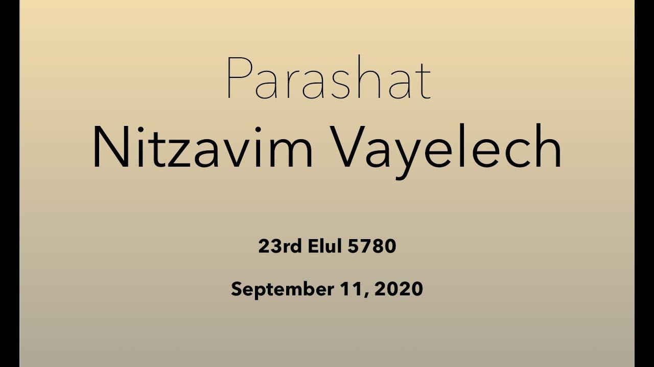 PARASHAT NITZAVIM/VAYEILECH