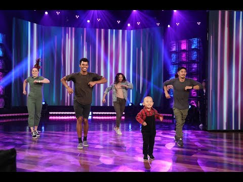 Adorable Kid Dancer Liang Liang Busts A Move!