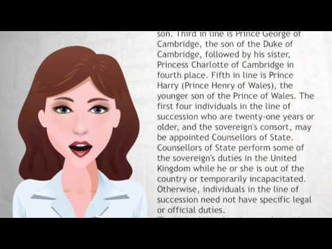 Succession to the British throne - Wiki Videos
