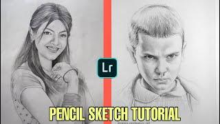 Pencil Sketch | Pencil Sketch Effect in Lightroom Mobile   Editing Tutorial screenshot 2
