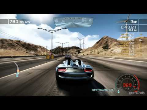 full download need for speed hot pursuit porsche 918 spyder concept study ps3. Black Bedroom Furniture Sets. Home Design Ideas