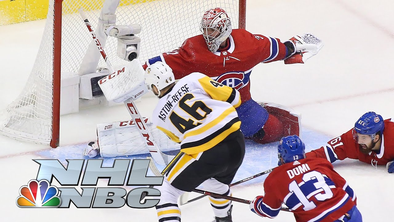 Canadiens advance in Game 4 as Penguins end season with a ...