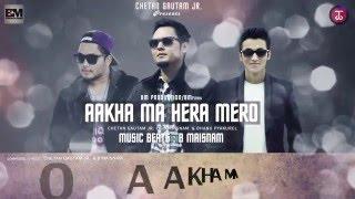 chetan gautam jr aakha ma hera mero ft b maisnam dhanu pyakurel official lyrics video hd