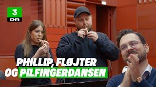 Fællessang med Curlingklubben og Phillip Faber: 'Pilfingerdansen'