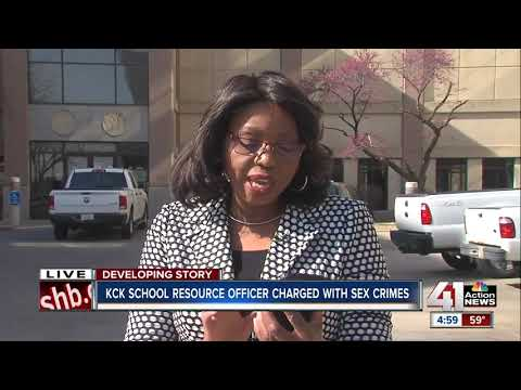 KCK school resource officer charged with child sex crimes