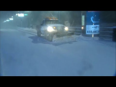 Winter storm hits the US