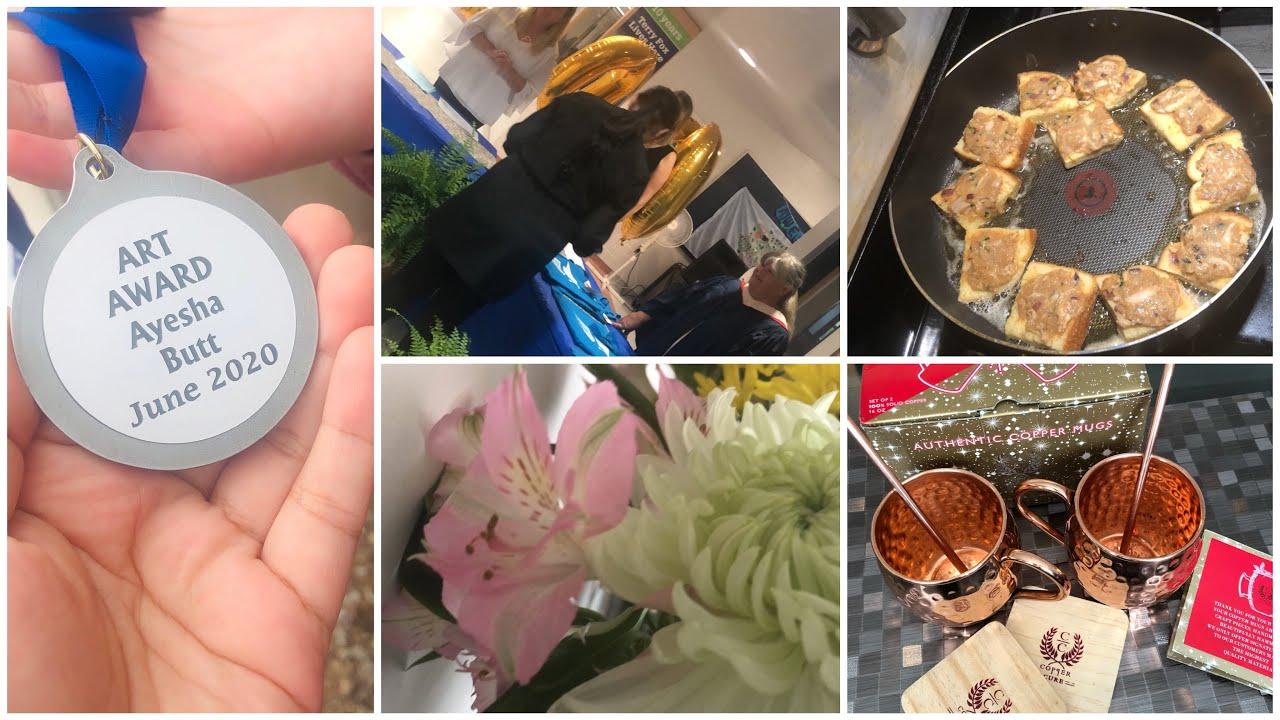 Good news ulad ki khushi . || Graduation celebration ||healty lifestyle || Pakistani Desi Mom vlogs