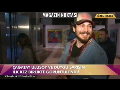 Çağatay Ulusoy ve Duygu Sarışın ilk kez kamera karşısında