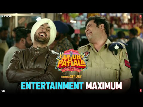 Maximum Entertainment with Arjun Patiala   Diljit, Kriti, Varun  Dinesh V   Bhushan  K   Rohit J