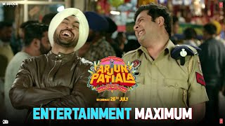 Maximum Entertainment with Arjun Patiala | Diljit, Kriti, Varun| Dinesh V | Bhushan K | Rohit J