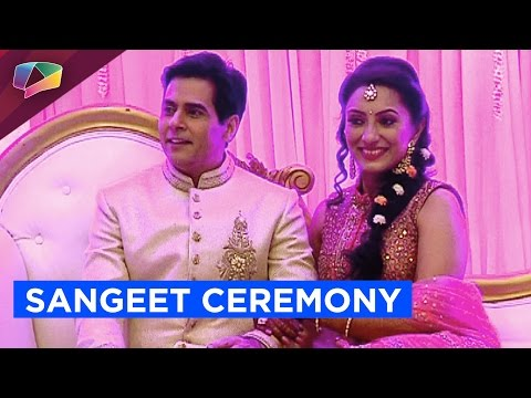 Aman Verma and Ankita Lalwani's Sangeet Ceremony