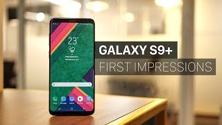 Samsung Galaxy S9 Plus Unboxing and First Impressions!