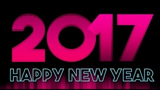 Happy New Year 2017 Wishes download Whatsapp song countdown wallpaper animation 4