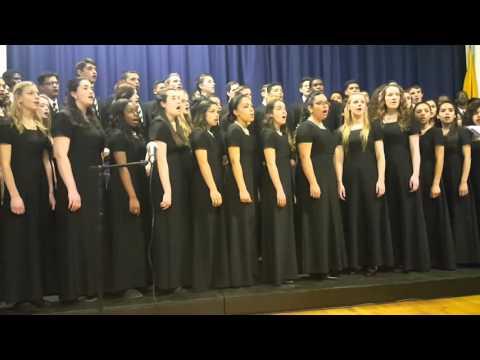 """I Thank You Lord"" Koinonia Academy Choir"