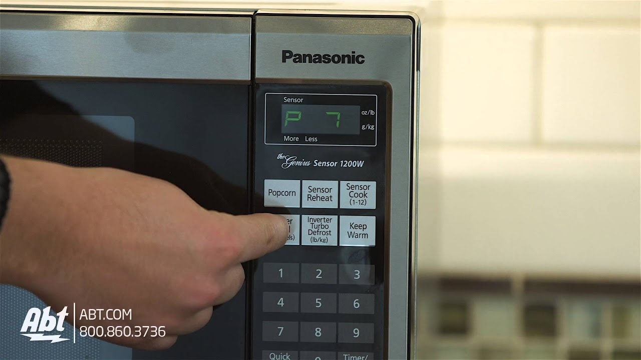 Panasonic Stainless Steel Countertop Microwave Oven Nn Sn661s Overview Youtube