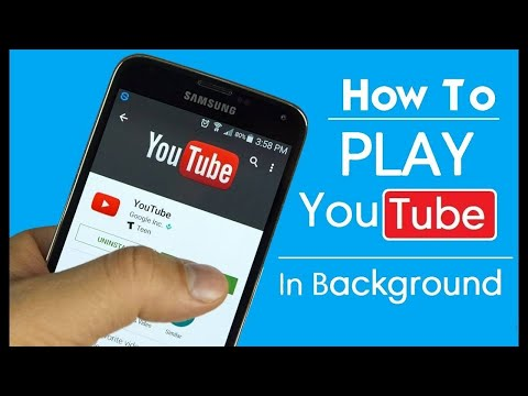 How to Play YouTube Video in Background Android || How to Play YouTube video with Screen Off