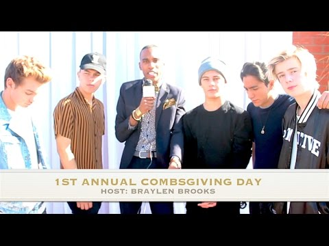 NEW DISTRICT  at 1st Annual Combsgiving Day a Thanksgiving Dinner and Block Party
