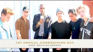 Baixar NEW DISTRICT Interview at 1st Annual Combsgiving Day, a Thanksgiving Dinner and Block Party
