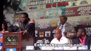Stiverne vs Wilder Talk Shit To Eachother - EsNews boxing