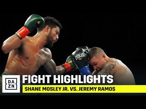 Шейн Мосли мл — Джереми Рамос / Shane Mosley Jr vs. Jeremy Ramos