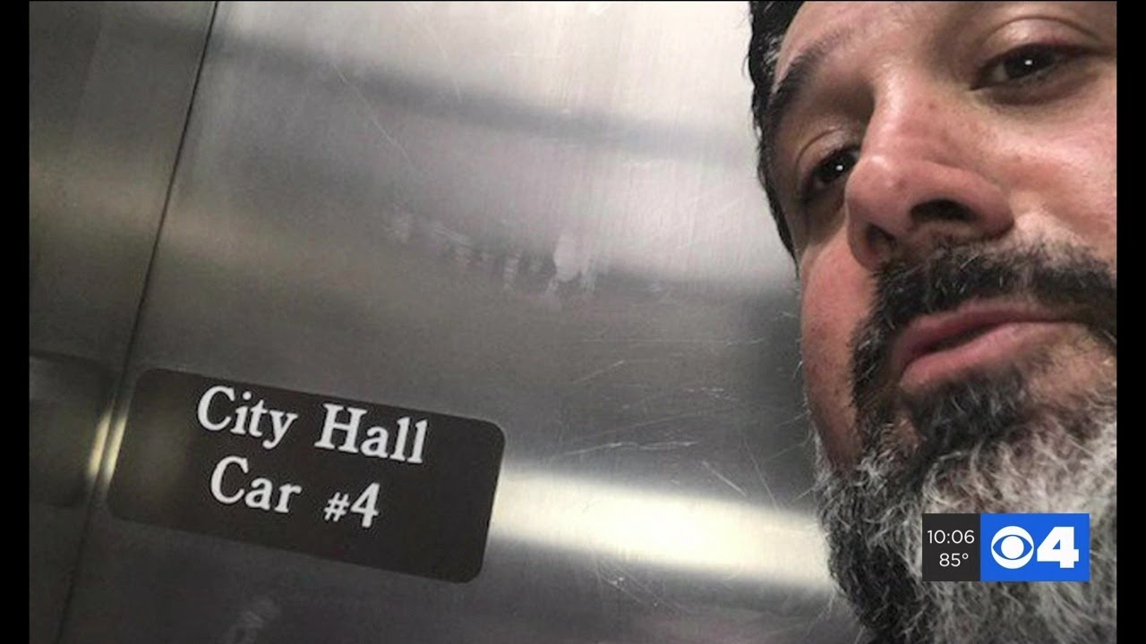Man says he was stuck inside St. Louis City Hall elevator for more than an hour, emergency phone