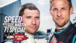 Best Of Speed With Guy Martin | F1 Special With Jenson Button | Guy Martin Proper