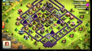 Clash of clans-top5 des clans-avril 2014