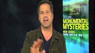 "Don Wildman on his new show ""Monumental Mysteries"""