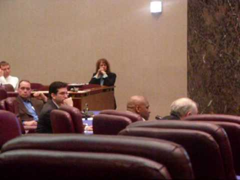 C.M.E.P. testifying at Chicago's city council....