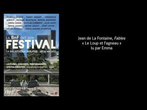 """#FestivalBnF : Jean de La Fontaine, """"Fables"""", """"Le Loup et l'Agneau"""" lu par Emma"""