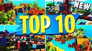 NEW TOP 10 INSANE Creative Maps In Fortnite | Fortnite Best Map Codes