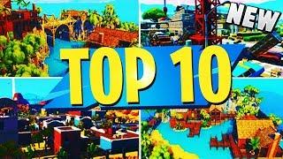 NOUVEAU TOP 10 INSANE Creative Maps In Fortnite (fr) Fortnite Meilleurs codes cartographiques