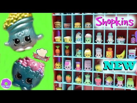Shopkins EXCLUSIVE Chef Club Season 6 Case with MACY MACARONI BERRY DELIGHTFUL 6 12 Mega Pack Review