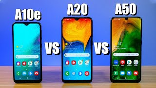 Samsung Galaxy A10e VS A20 VS A50, Which Phone is Right for You?