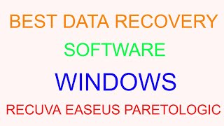 Best Data Recovery Software For Windows In 2017