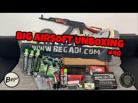 [UNBX] BIG BEGADI AIRSOFT Unboxing E&L, SECUTOR, Akkus, Gas Deutsch/german TEAM-030 AIRSOFT