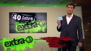 """Christian Ehring: Wie man in Nullkommanix eine gute """"extra 3""""-Moderation herstellt"""